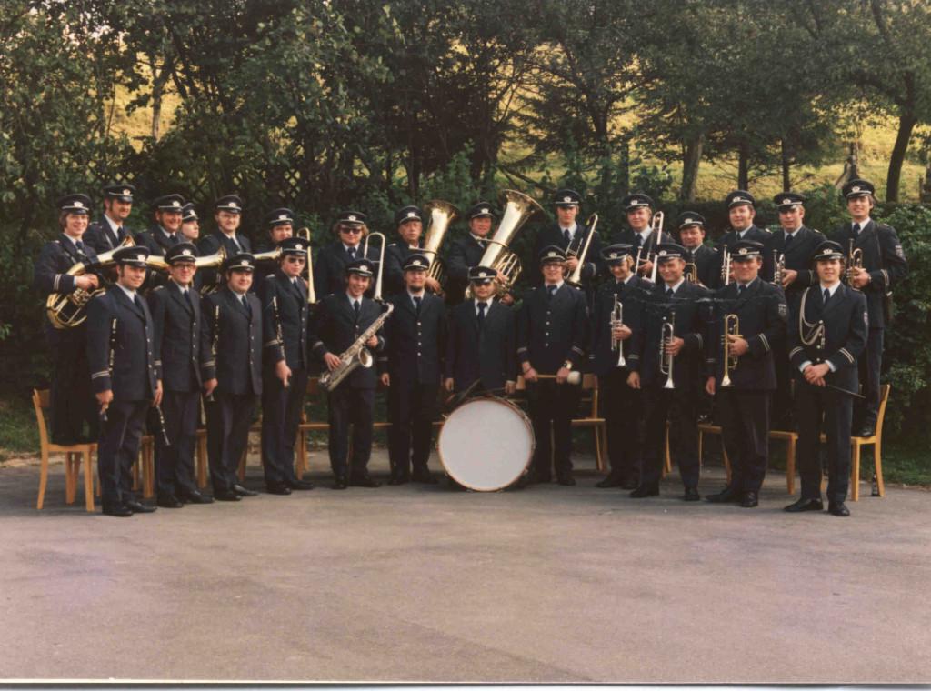 Vereinsfoto 1974